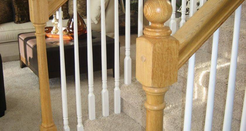 Awesome Stair Bannister Wood Banisters Railings