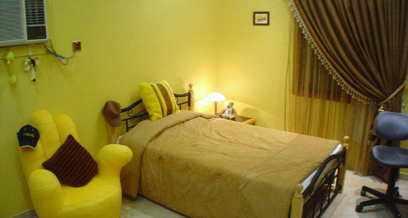 Awesome Yellow Girls Bedroom Decorating Ideas
