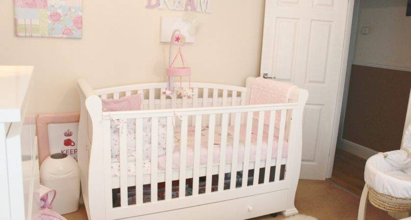 Baby Girl Nursery Room Tour Youtube