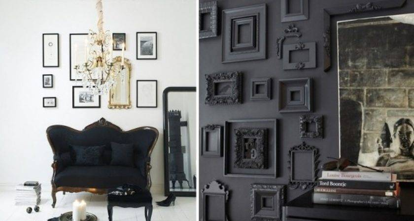 Back Black Home Decorating Ideas