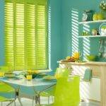 Backsplash Lime Green Kitchen Decor Neon Wall Paint