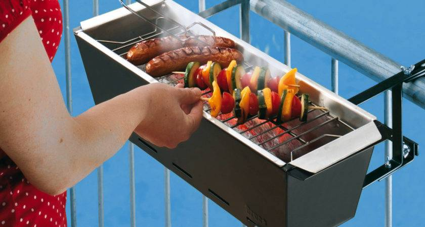 Balcony Grill Barbecue Has Never Seemed Incredibly