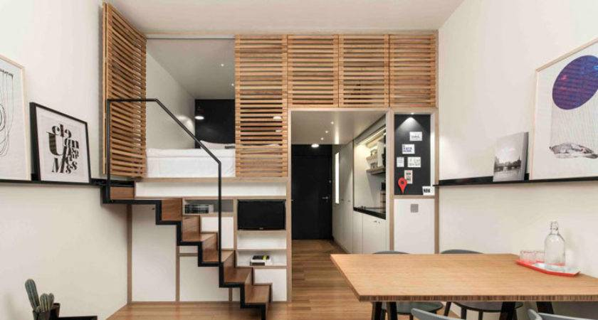Bata Ringan Type Aac Modern Small Studio Apartment Design