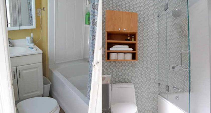 Bathroom Small Makeover Before After