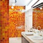 Bathroom Splashy Accent Wall Decoroption