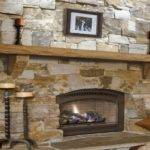 Bathroom Storage Solutions Stone Fireplace Mantel Shelf