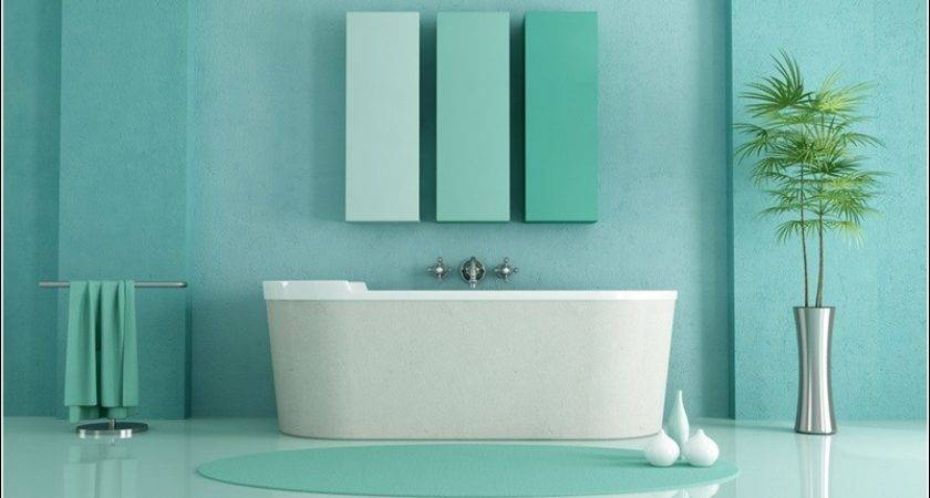 Bathrooms Designed Serene Aqua Tones