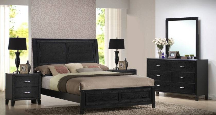 Baxton Studio Eaton King Piece Modern Bedroom Set