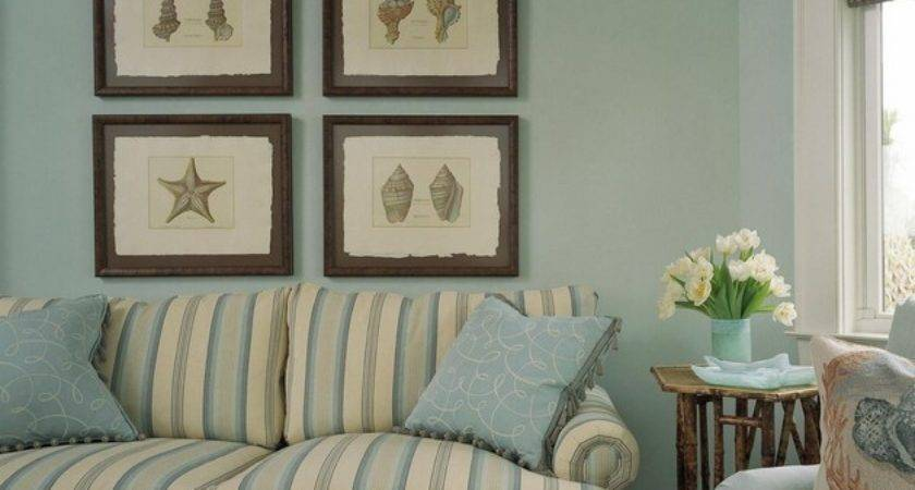 Beach Decorating Ideas Living Rooms Using Blue