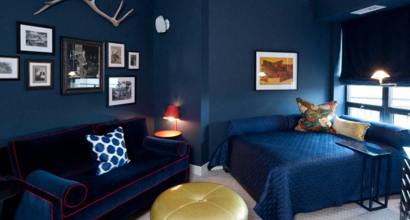 Beautiful Bedroom Designs Gold Navy Accents