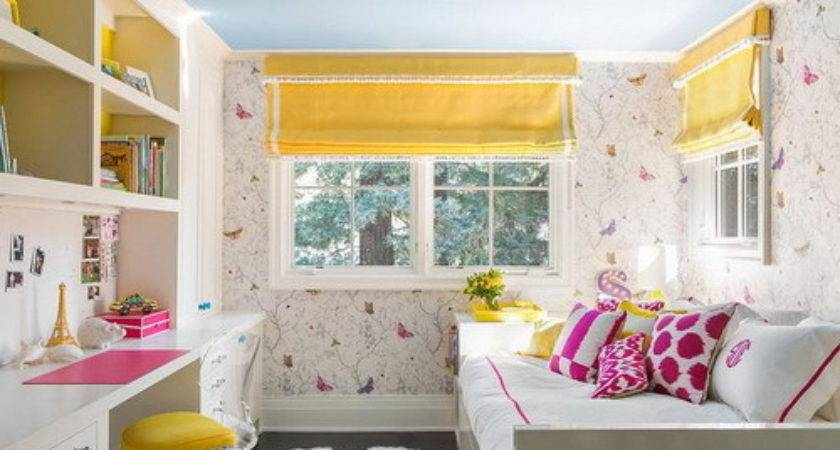 Beautiful Bedroom Kids Girls Queen Bed