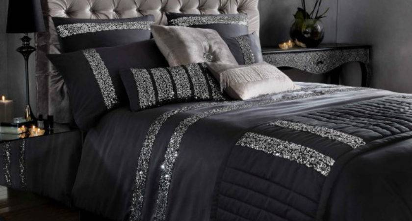 Beautiful Black Bed Linens Home Design Lover