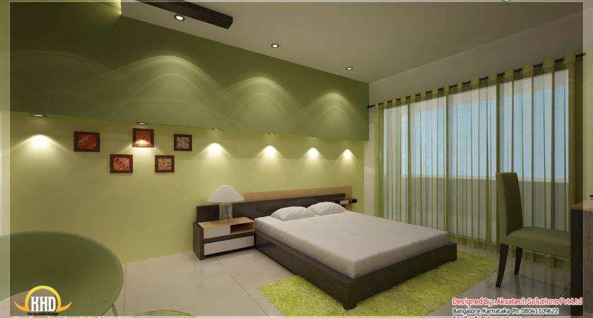 modern bedroom interior design kerala style images