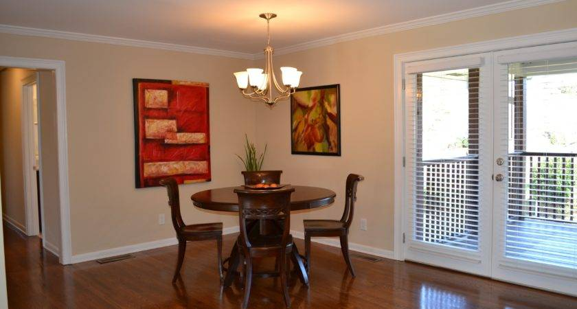 Beautiful Dining Room Design Hardwood Flooring