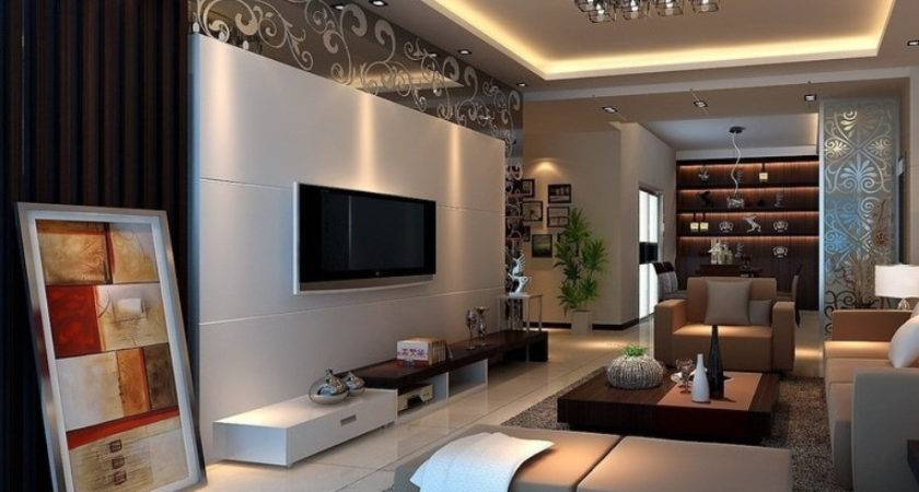 Beautiful Drawing Room Interior Design Gray Ivory