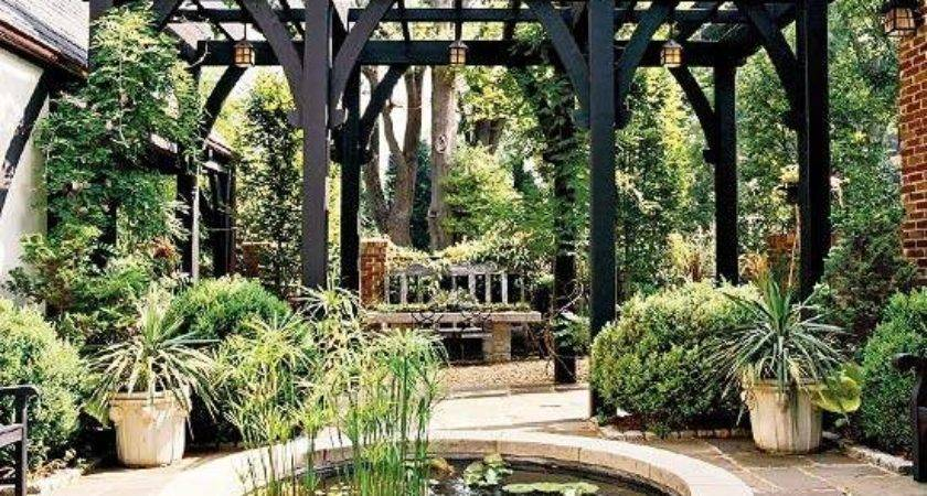 Beautiful Garden Design Ideas Wooden Pergolas