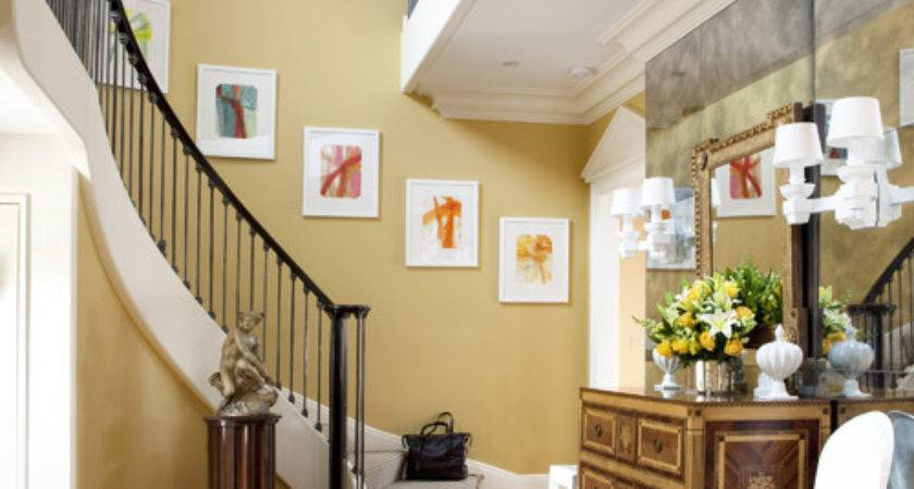 Beautiful Gold Yellow Paint Color Walls