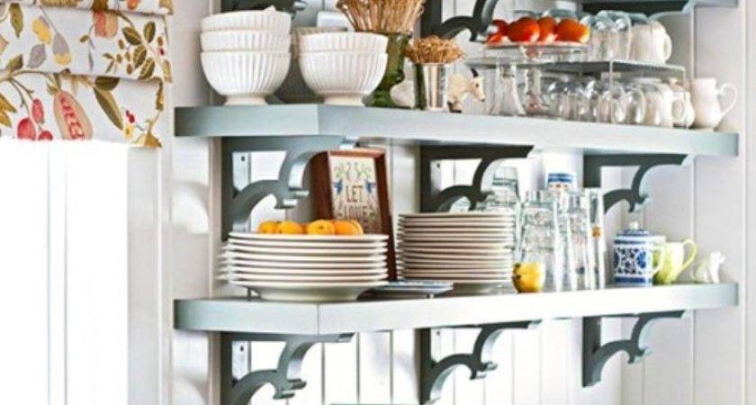 Beautiful Kitchen Designs Floating Shelves Rilane