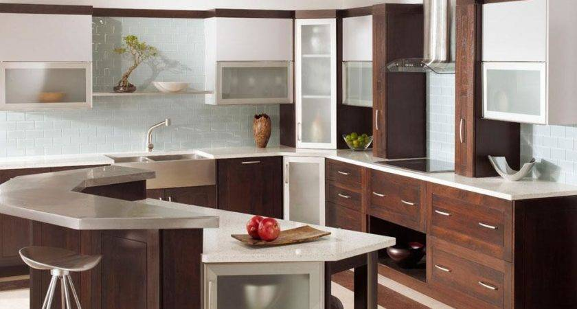 Beautiful Kitchens Glass Cabinets