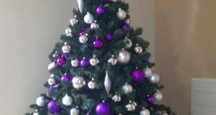 Beautiful Purple Christmas Tree Decorations Ideas Magment