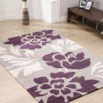 Beautiful Purple Rugs Bedroom Lbfa Ideas