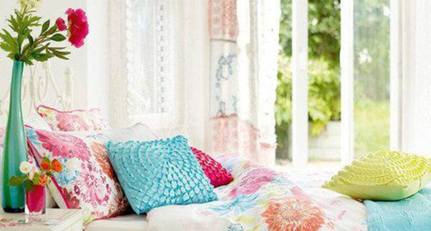 Beautiful Spring Bedroom Flower Themes Home