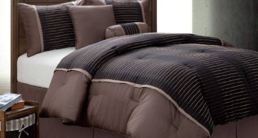 Bedding Bed Pieces Brown Tan Chocolate Modern