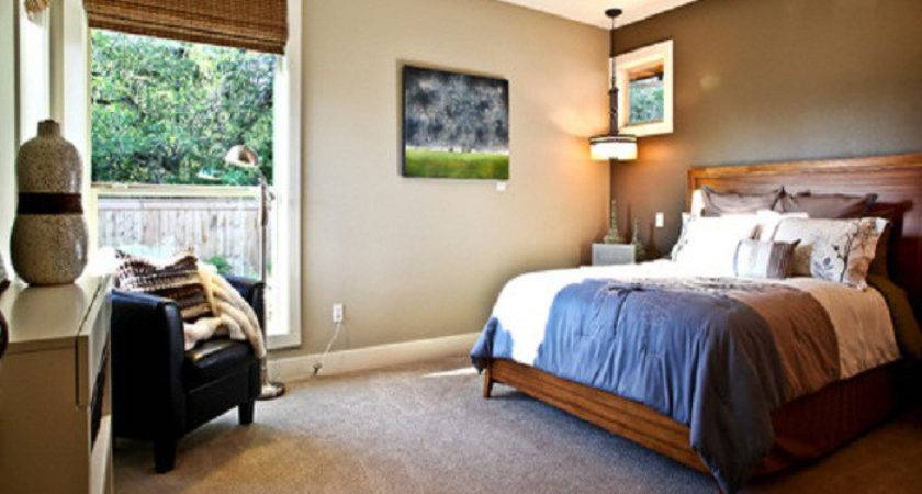 Bedroom Accent Wall Color Home Decorating Ideas Neutral
