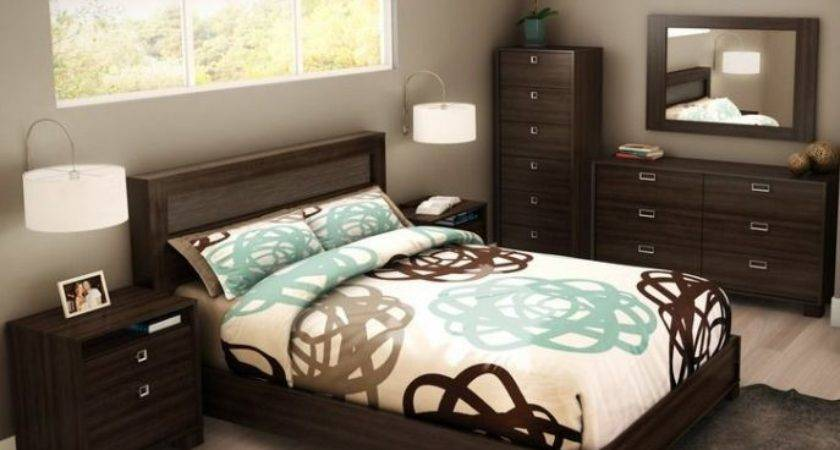 Bedroom Alluring Decorating Ideas Brown