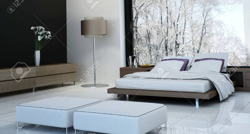 Bedroom Attractive Ultra Modern Double Beds