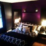 Bedroom Awesome Purple Gray Dark