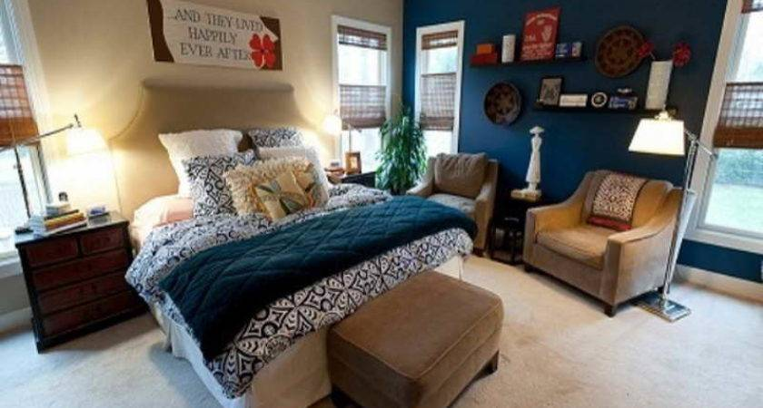 Bedroom Brown Blue Ideas Furniture Cool