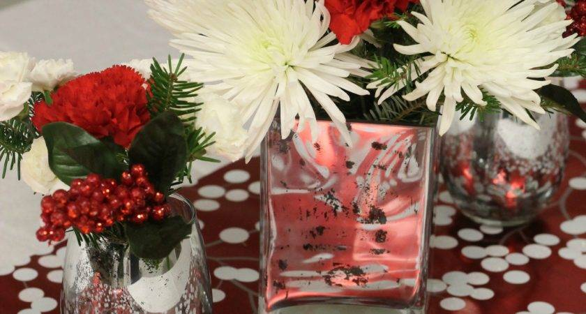 Bedroom Christmas Table Centerpieces Decoration