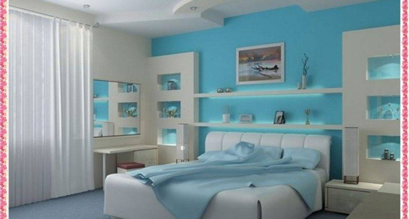 Bedroom Color Combination Examples Home Decoration Wall