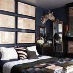 Bedroom Colors Men Dark Grey Walls Wall