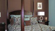Bedroom Decorating Ideas Blue Brown Home Delightful