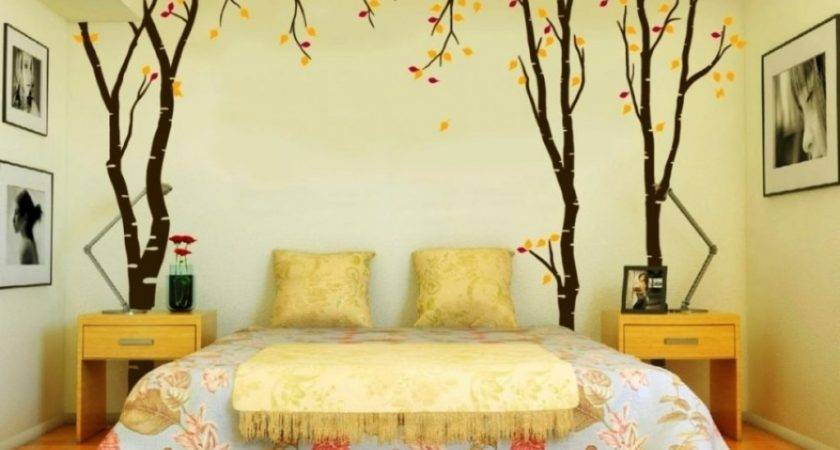 Bedroom Decorating Ideas Low Budget Decor Cheap Wall