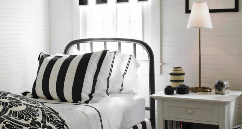 Bedroom Elegant Black White Stunning