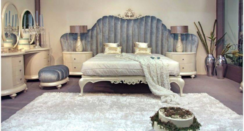 Bedroom Exquisite Blue Cream