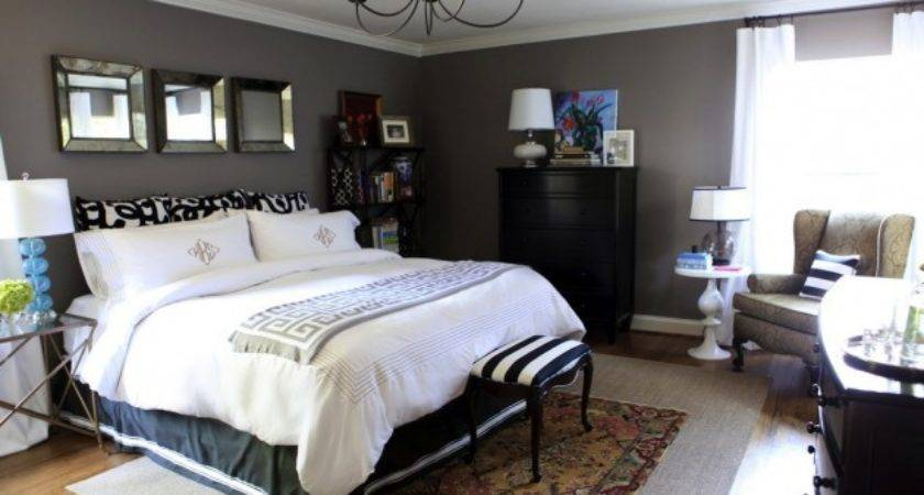 Bedroom Feature Wall Ideas Furniture High