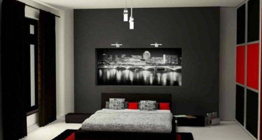 Bedroom Ideas Red Black White Slunickosworld