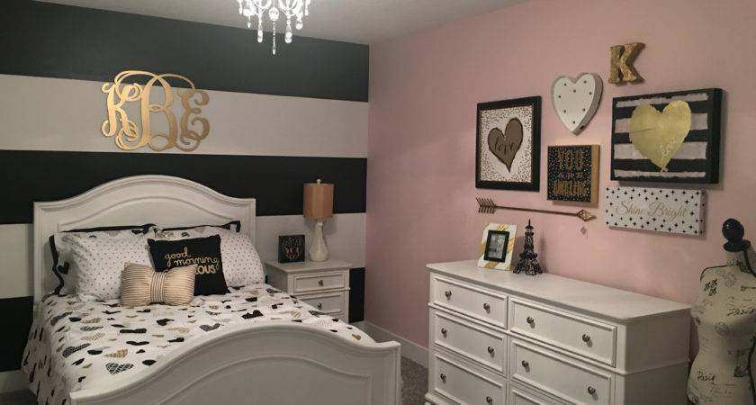 Bedroom Ideas Rose Gold Excellent Themed