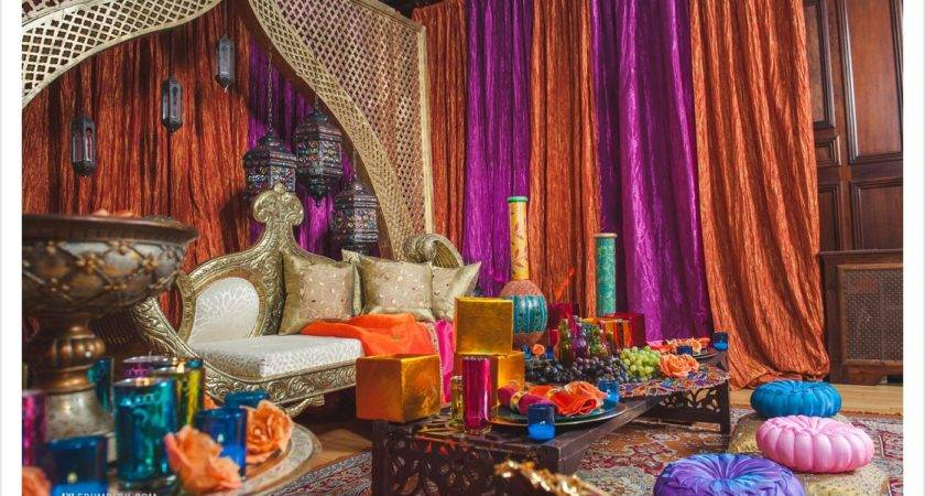 Bedroom Moroccan Style Furniture Curtain