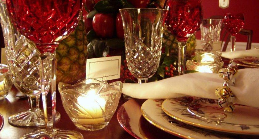 Bedroom Simple Design Formal Christmas Table Decoration