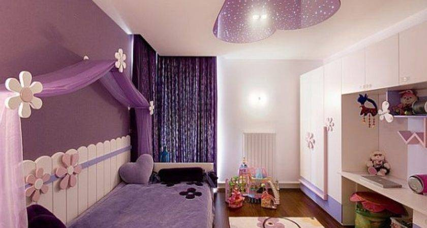 Bedroom Teenage Girl Room Designs Purple