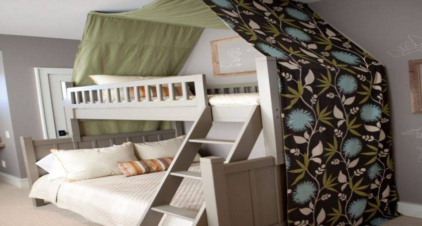 Beds Canopy Creative Bunk Bed Ideas