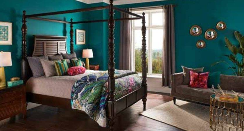 Behr Essential Teal Top Colors According