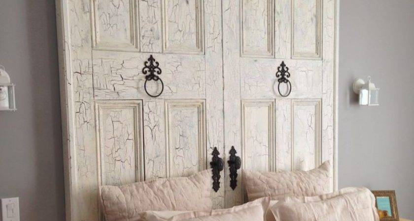 Best Antique Door Headboards Ideas Pinterest