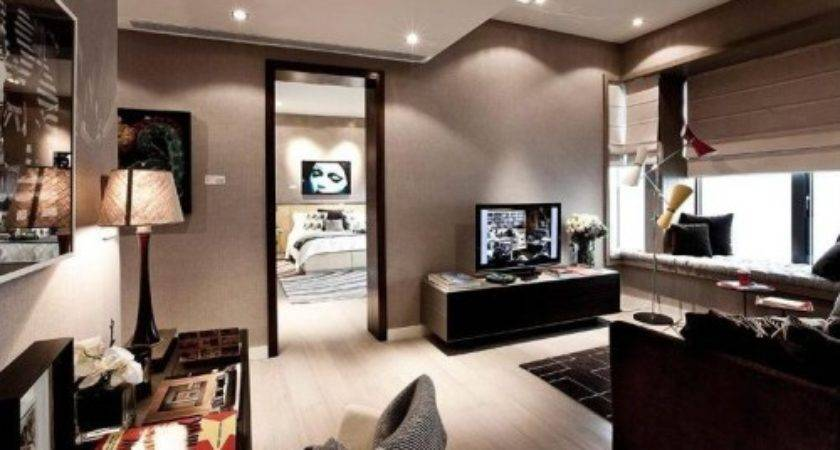 Best Apartment Furniture Home Interior Colors Brown Color