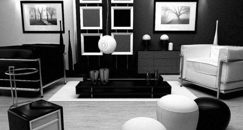 Best Black White Living Room Design Inspiration
